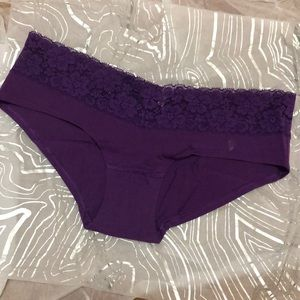 NWOT I 💓 Ponk by VS Extra Low Rise Hipster Sz S